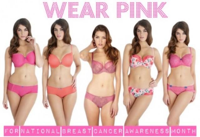 Panache pink bras