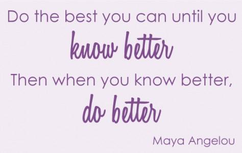 maya angelo quote