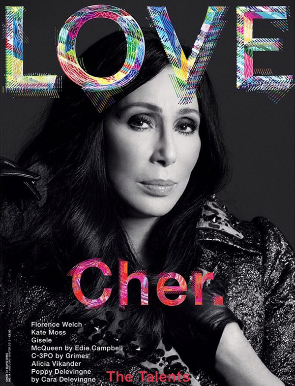 Cher-Love-Magazine-Cover